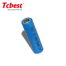 ICR14500 rechargeble lithium cell 3.7v 750mAh li-ion battery