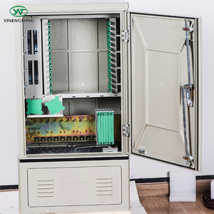 Outdoor FTTH SMC 144 core fiber optic cross connect cabinet