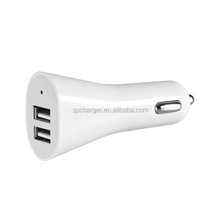2 usb 5v 2a usb car charger power adapter wholesale cellphone charger