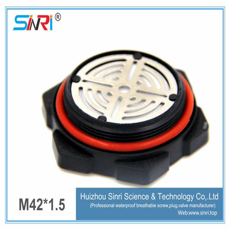 Screw protective valve air breather for car battery pack e-ptfe teflon membrane vent