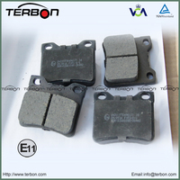 China Disc Brake Pad, Auto Parts Break Pad For PEUGEOT