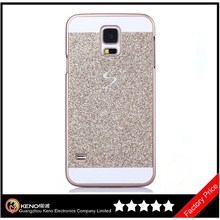 Keno Luxury Bling Diamond with Crystal Rhinestone Vibrant Trendy Color Slider Style Hard PC Case for Samsung Galaxy S5 i9600