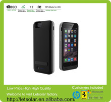China supplier genuine 3100mah mfi power bank charger external battery case for iphone 6