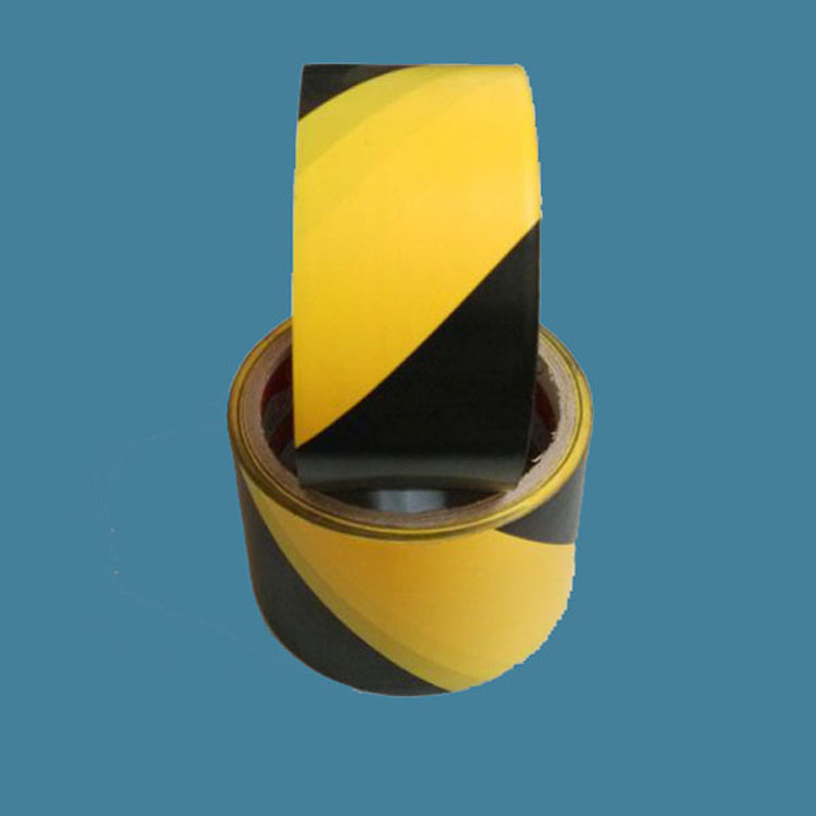 Pressure Sensitive Adhesive Type and Single Sided Adhesive Side anti slip PVC floor marking tape in China