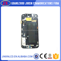 China Manufacturer whoelsale lcd digitizer assembly for samsung mega 6.3 i9200(with frame)