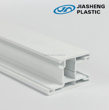 ISO9001 certificated building pvc extruded Profile, window frame profiles exporting plastic upvc/pvc profile production