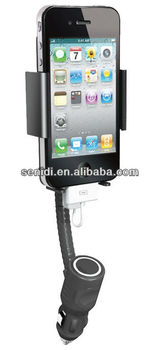 Car Holder Mount Charger for iPhone