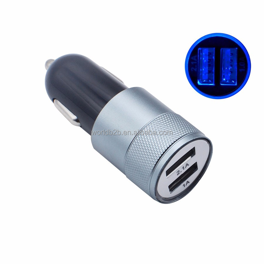 Fast charge speed OEM logo mini hands free car charger made in china