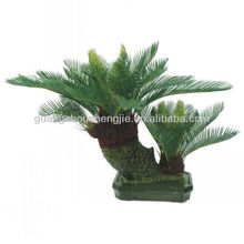 2 mini branches artificial cycas revoluta tree bonsai /fake cycas revoluta bonsai