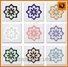 Digital printing PVC vinyl decorative home floor stickers,customized PVC 3d floor sticker