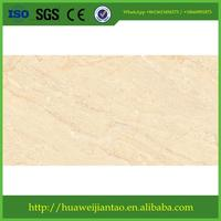 kitchen tile / golden yellow / glazed ceramic wall tiles