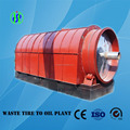 Best sales horizontal waste rubber recycling to oil pyrolysis machine