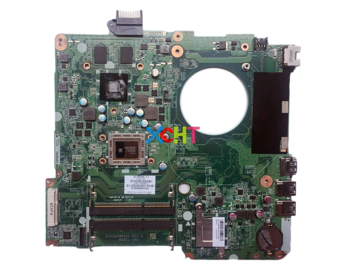 for HP Pavilion 15-N Series 15Z-<strong>N100</strong> 734824-501 8670M/2G A76M A10-5745M DA0U92MB6D0 Motherboard Mainboard Tested