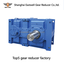 Right angle transmission gearbox / helical bevel reduction gear box reducers for tunnel dryer