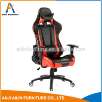 Comfortable office chair with armrest cool gaming chair racing