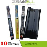 35% VLT black color tint film for automotive windows