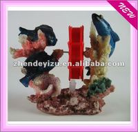 Resin decoration for aquarium