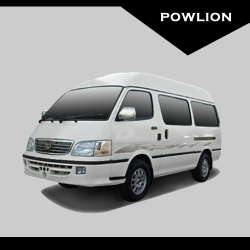 Powlion B10 15 Seats diesel mini-bus (Standard Roof, old face)