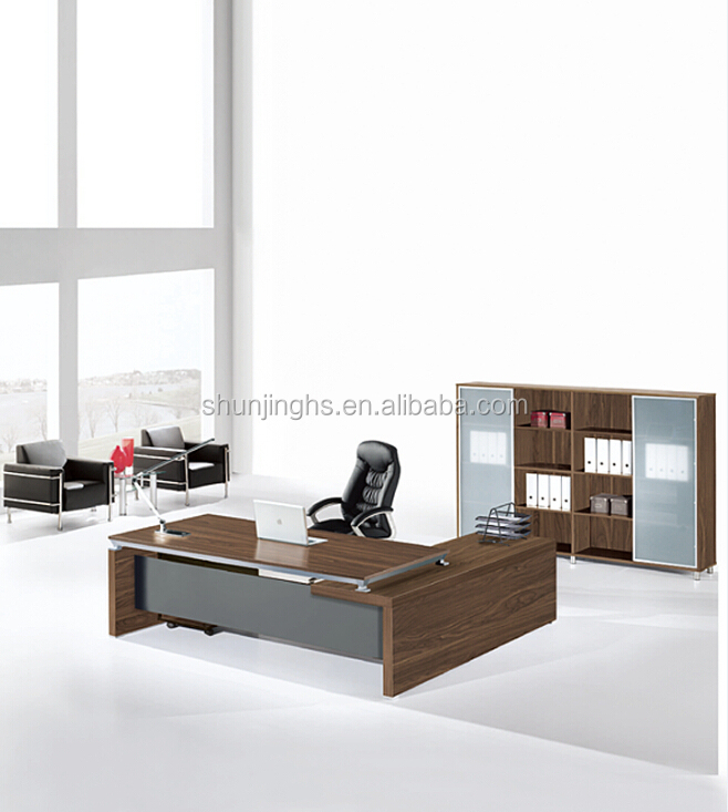 Wooden executive table designs modern office furniture & office table