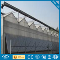 advanced cooling pad for livestock farming/greenhouse/industry reflective mylar tent poly film tunnel greenhouse