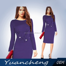 Latest new design women office wear pencil dress