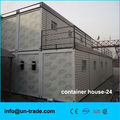 40ft high quality office container house