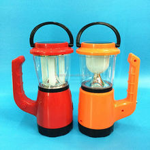 Hot selling 5W Solar powered lamp with charger ,Radio and Music Player