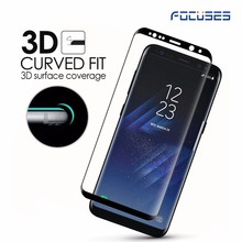 2017 NEWEST Mobile phone accessories for s8 tempered glass glass screen protector tempered glass For Samsung Galaxy S8 plus