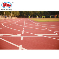 Waterproof UV Resistance Prefabricated Synthetic Rubber Athletic Running Track Surface