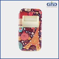 Painting Universal PU Leather Cell Phone Cover Case