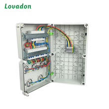 European-style Waterproof Electric Box / Plastic Electrical Wall Junction Boxes Distribution Box
