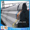 zinc coating galvanized hollow construction scaffolding material