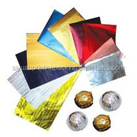 High Quality Aluminum Foil Chocolate Wrapping Paper