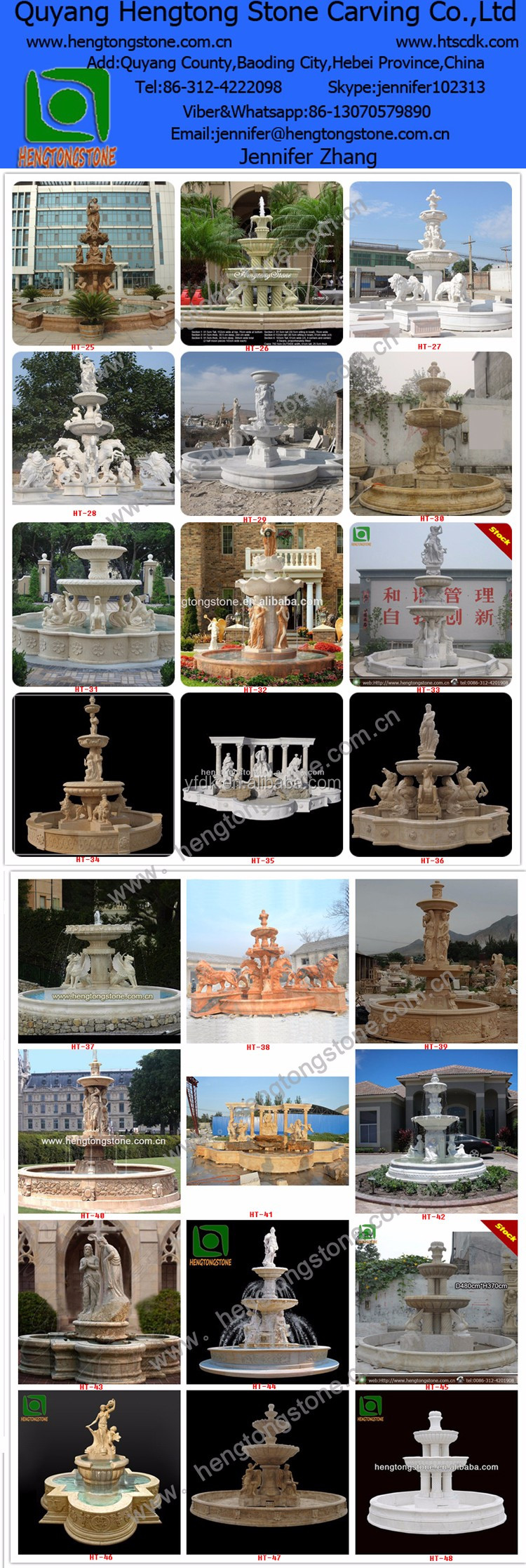 White Marble Angel Water Fountain In Stock