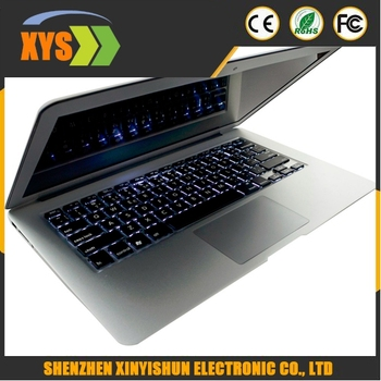 Cheapest Aluminium Metal Ultrabook used Laptop i7 5600U 8G RAM 256G SSD Laptop Notebook Win7 7000mah battery 2.6Ghz