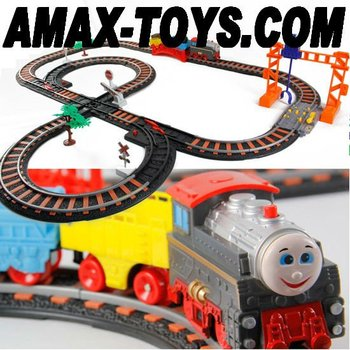 ect-02135 Large track train children track train assembling track train toys