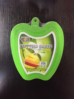 BPA free Chopping Blocks , small apple plastic cutting board
