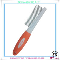 PR80016-2 new style food grade professional silicone hair removal pet grooming comb