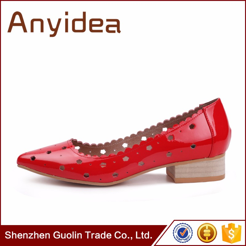 Red Office Dress Shoes Sandals Heels ladies wedding shoes