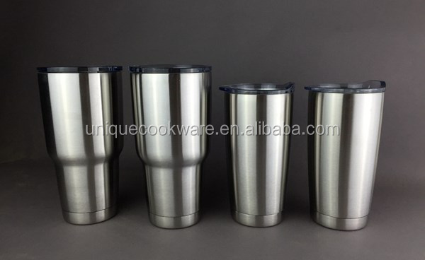 UNIQUE GROUP New Tumbler Stainless Steel 30 oz Insulated Cup and Mug with Lid