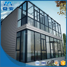 High Quality Fashion aluminum villa sunroom and winter garden