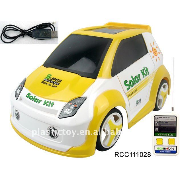 Solar Kit Radio Control Toy Car RCC111028