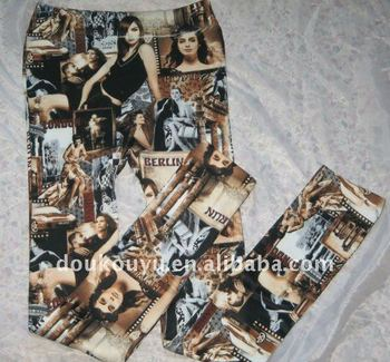 2011 Fashion Digital print leggings