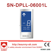Durable latest touch screen lcd display for elevator