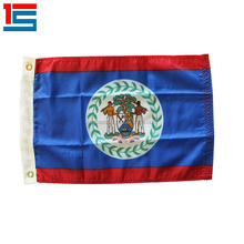 Cheap Custom soccer sports Belize country flag