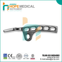 Orthopedic implant clavicle hook plates, medical implants, collarbone fractures, Hope Medical