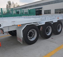 Good quality 3 BPW Axles multiple color low-bed trailer for sale