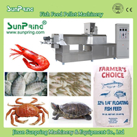 2015 Egypt farm porgy balack porgy mullet crab seabass fish feed making machine Made in China