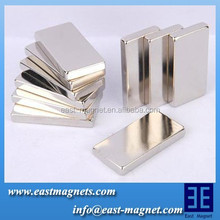 N38 6mmx2.5mm cheap block neodymium permanent magnet/magnet for precast concrete magnet/ synchronous motor magnets