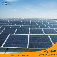 1KW 2KW 3KW flat roof solar mounting system / 5KW 10KW concentrated solar power system / solar and wind energy system